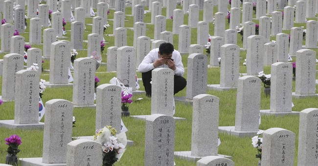Image of Asia: South Korea remembers dead on Memorial Day
