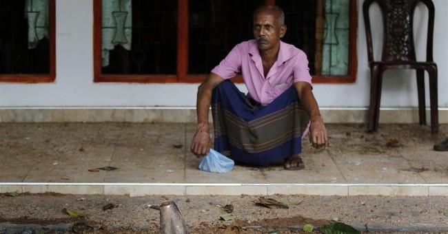 Fire triggers blasts at Sri Lanka army camp, killing 1