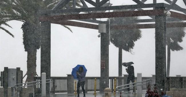 The Latest: Heavy rains from Colin hit Florida, Georgia