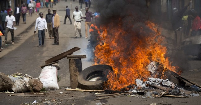 Kenya's government bans all protests against electoral body