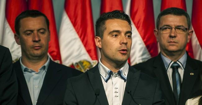 Hungary's far-right Jobbik party's leader strengthens power