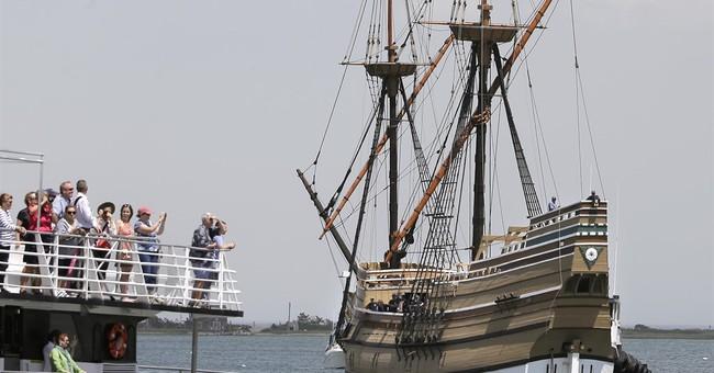 Mayflower II, replica of Pilgrim ship, returns to Plymouth