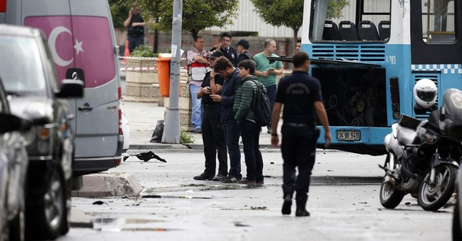 The Latest: US Condemns Turkey car bombing