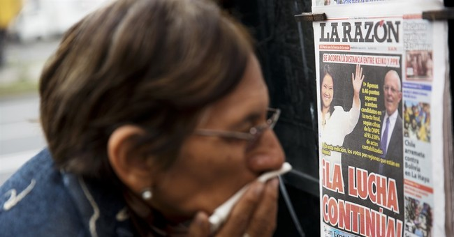 Nail-biter race for Peru's presidency remains tight