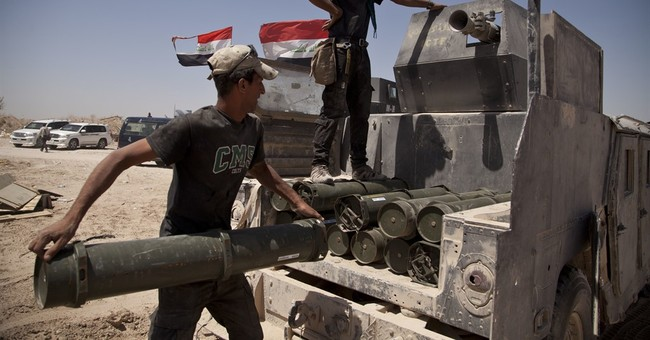 Spats among Iraq's security forces delay advance on Fallujah