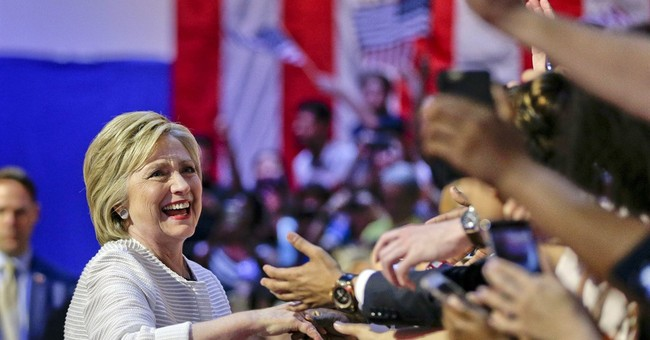 Clinton wins majority of delegates from primaries, caucuses