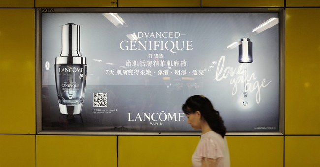 Hong Kongers accuse France's Lancome of kowtowing to Beijing
