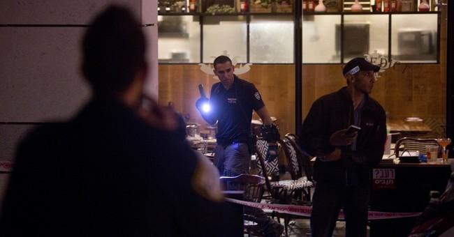 Palestinian gunmen kill 4 Israelis in Tel Aviv, 5 wounded