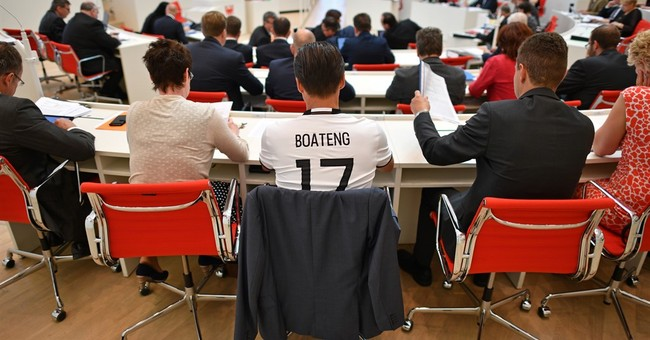 German lawmaker wears Boateng shirt to parliament in support