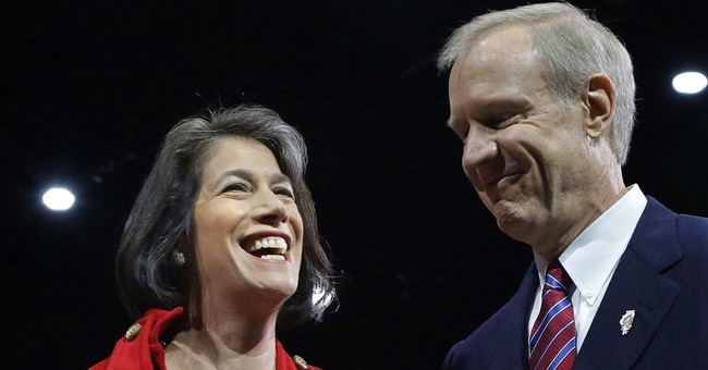 Awkward: Illinois governor sued by wife's nonprofit