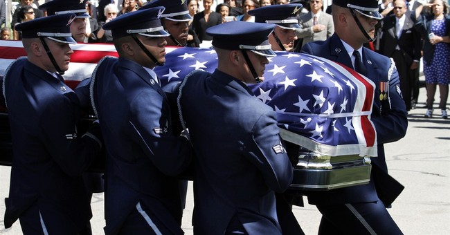 First active duty gold medal winner buried at Arlington
