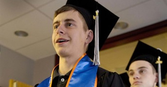 Military dress at graduation? In most places, it's a no-no