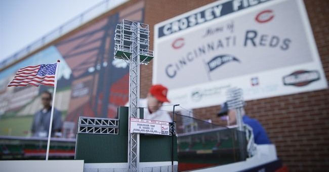Historic site opens at Cincinnati Reds' former home