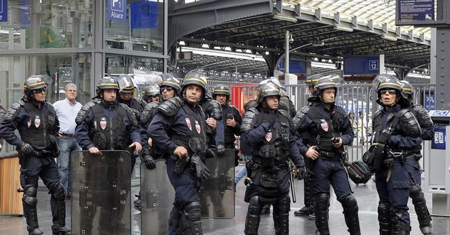 First strikes, then floods, now trash: Paris in ordure fight