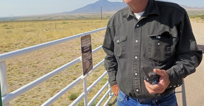 Border ranchers with few options now have police radios