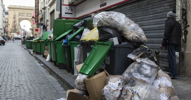 Welcome to France: Strikes and rotting trash