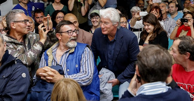 Richard Gere on the homeless: It could be me, or you