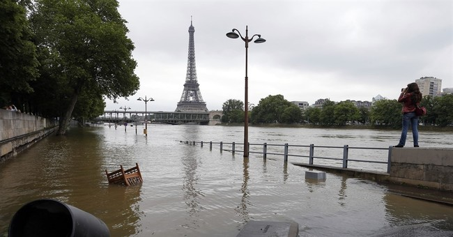 Experts find climate change's fingerprints in French floods