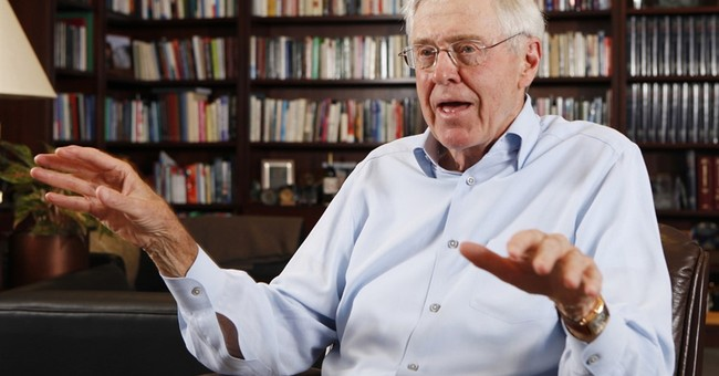 AP Interview: Billionaire Koch fed up with politics as usual