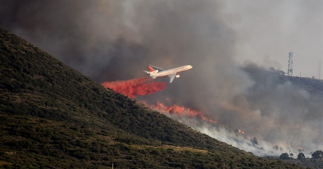 The Latest: FEMA authorizes funds to help fight Arizona fire