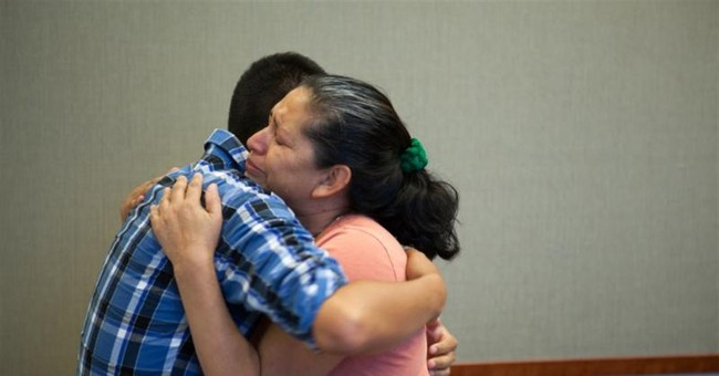California mother reunited with son abducted in 1995