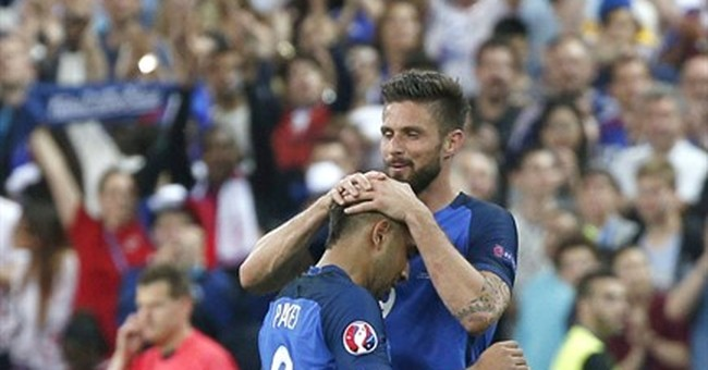 The Latest: Old Port in Marseille calm ahead of match
