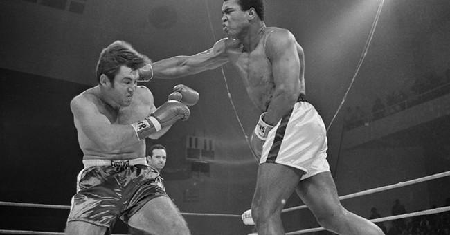 Ali returned to ring with ex-Georgia senator in his corner