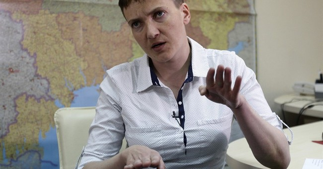 AP Interview: Savchenko calls for early elections in Ukraine