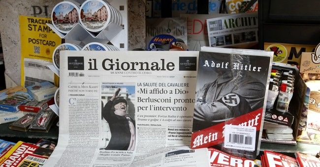 Italian daily publishes Hitler's 'Mein Kampf' to anger