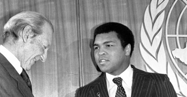 UN honored Ali's lifelong commitment to peace and rights