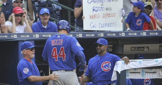 Arrieta shines, homer-happy Cubs beat Braves 8-2