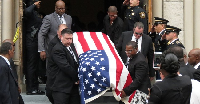 Funeral held for soldier killed in training accident