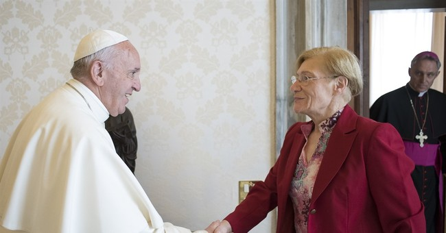 Pope meets with Argentine mother of man on Texas death row