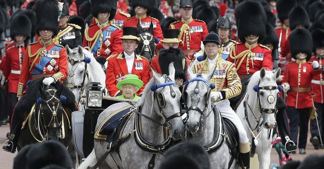 Queen Elizabeth II and family mark 90th birthday with parade