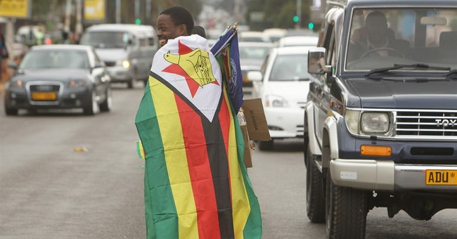 Zimbabwe's flag center of social media war over frustrations