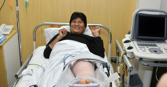 Bolivia's Evo Morales leaves hospital after knee surgery