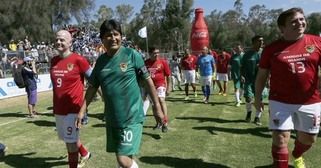 Bolivia's Evo Morales leaves hospital after knee surgery