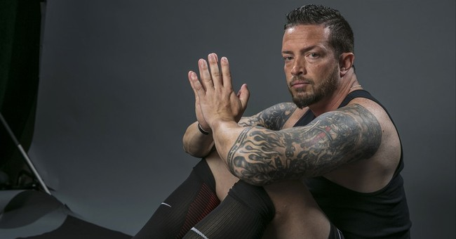 Only a game: Soccer star finds more meaning on battlefield