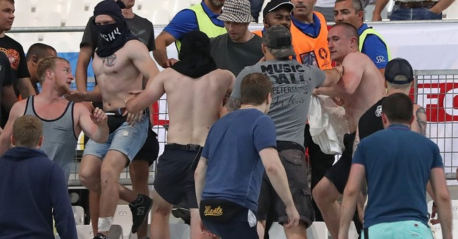 Authorities: 44 injured in soccer clashes in Marseille, Nice