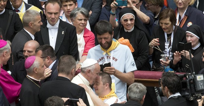 Pope slams culture of 'perfect' people shunning the disabled