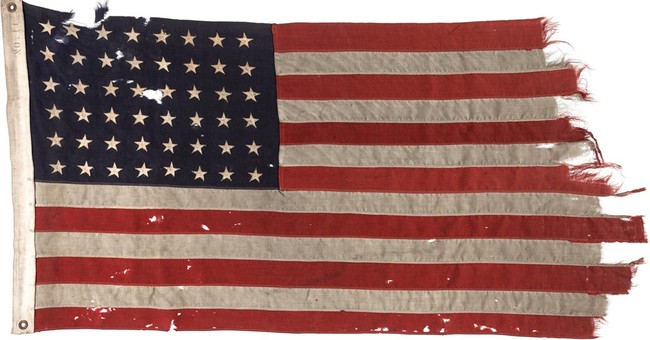 Correction: D-Day Flag-Auction story