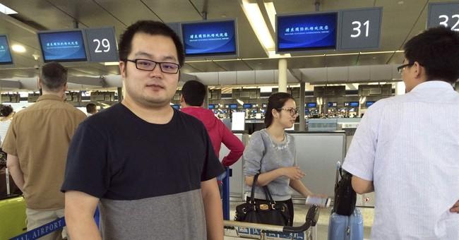 Explosion at Shanghai's main international airport injures 4