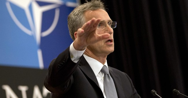 NATO chief: 4 battalions going to Baltic states, Poland