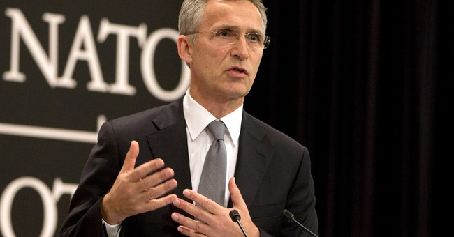 NATO countries' defense spending is up, alliance chief says