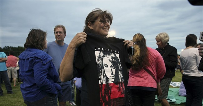 Vigil held in New Jersey hometown of slain 'Voice' singer