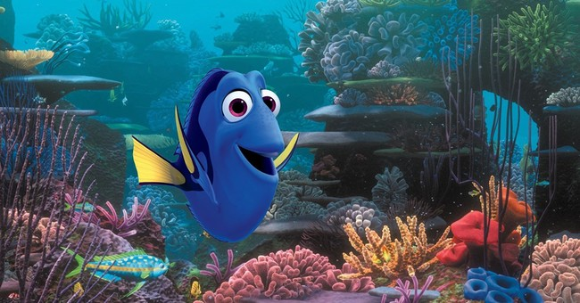 DeGeneres shares a biopic with a blue fish in 'Finding Dory'