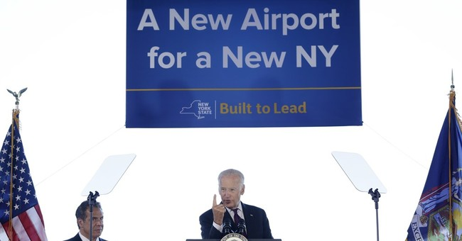 Biden praises plan to revamp 'Third World' LaGuardia Airport