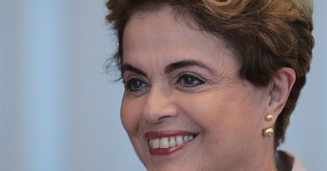 If returned to office, Brazil's Rousseff favors new election
