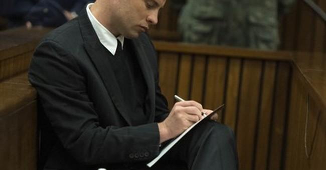 Father of Reeva Steenkamp testifies at Pistorius sentencing