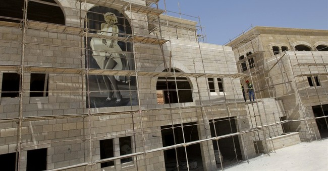 Palestinians move into new city, part of statehood dream